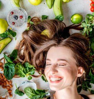 Los 7 mejores súper alimentos para el crecimiento del cabello